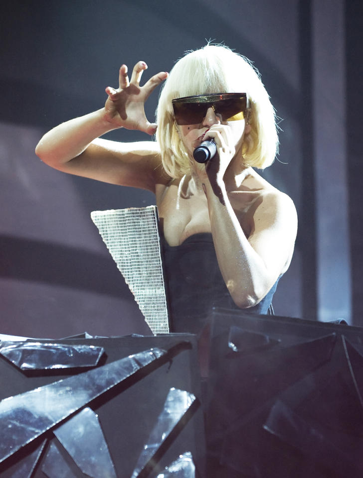 """<a target=""""_blank"""" href=""""http://news.yahoo.com/photos/performers-lady-gaga-1316464178-slideshow/"""">Lady Gaga</a> was named Billboard's Artist of the Year in 2010 and will no doubt deliver an exciting performance at the Hollywood Bowl on October 15. (Gilbert Carrasquillo/Getty Images)"""