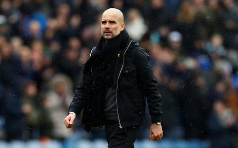 <span>Pep Guardiola says he wants to enjoy watching Riyad Mahrez in action</span> <span>Credit: REUTERS </span>