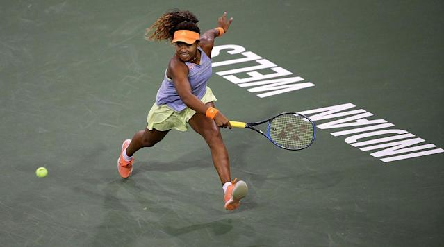 <p>INDIAN WELLS, Calif. (AP)—Maria Sharapova's return to the BNP Paribas Open for the first time in three years ended Wednesday in a 6-4, 6-4 loss to Naomi Osaka of Japan.</p><p>Sharapova's ranking of No. 41 in the world forced her to play a first-round match in the tournament she has won twice.</p><p>She trailed 4-1 in the first set before holding serve at 4-all. But Osaka held to go up 5-4 and broke Sharapova on a double fault to close out the set.</p><p>Ranked 44th in the world, Osaka took a 4-2 lead in the second set. Sharapova broke to tie it 4-all before Osaka won the final two games to end the 1 1/2-hour match.</p><p>Sam Stosur overcame a slow start to beat American Lauren Davis 3-6, 6-3, 6-3.</p><p>Two American teenagers advanced to the second round.</p><p>Amanda Anisimova defeated 94th-ranked Pauline Parmentier 6-2, 6-2 for her first WTA Tour victory. The 16-year-old Anisimova, who earned a wild card into the main draw, is the U.S. Open junior champion.</p><p>Caroline Dolehide, a 19-year-old wild card, fired 11 aces in outlasting 78th-ranked Shelby Rogers, 3-6, 7-6 (6), 6-3 in 2 1/2 hours.</p><p>In other matches on the first day of the two-week tournament, Belinda Bencic saved a match point in beating Timea Babos, 1-6, 6-1, 7-6 (4), while wild card Genie Bouchard lost to qualifier Sachia Vickery, 6-3, 6-4.</p><p>Serena Williams returns to the tour for the first time in 14 months Thursday when she plays a first-round match.</p>