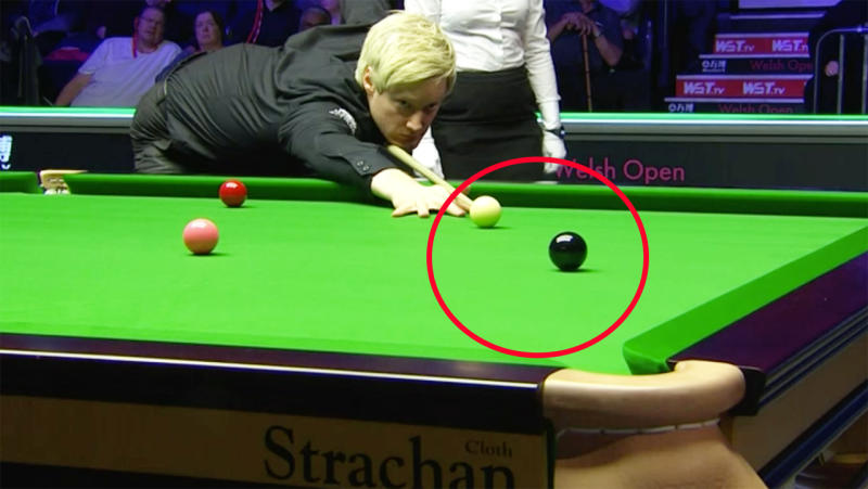 Neil Robertson, pictured here notching his 700th career century break.