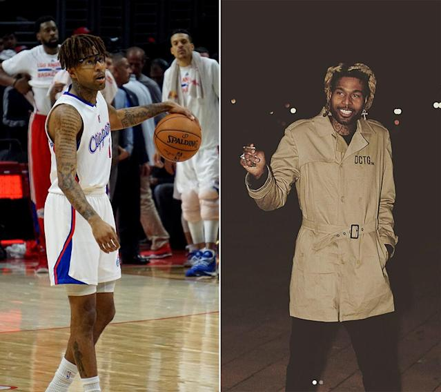 After leaving the NBA, Chris Douglas-Roberts (left) became Supreme Bey. (Getty Images / montecristo_ritchie on Instagram)