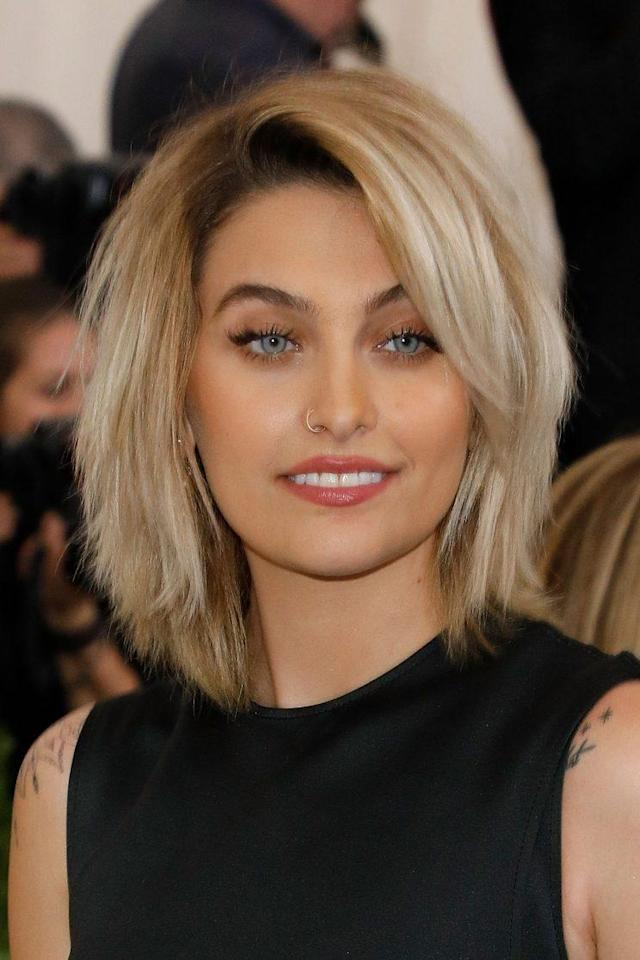 Paris Jackson at the Rei Kawakubo/Commes Des Garcons: Art of the In-Between benefit in New York City in May 2017. Jackson recently landed a cover spot on <em>Vogue Australia</em>, another step in the 19-year-old's burgeoning model career. (Photo: Getty Images)