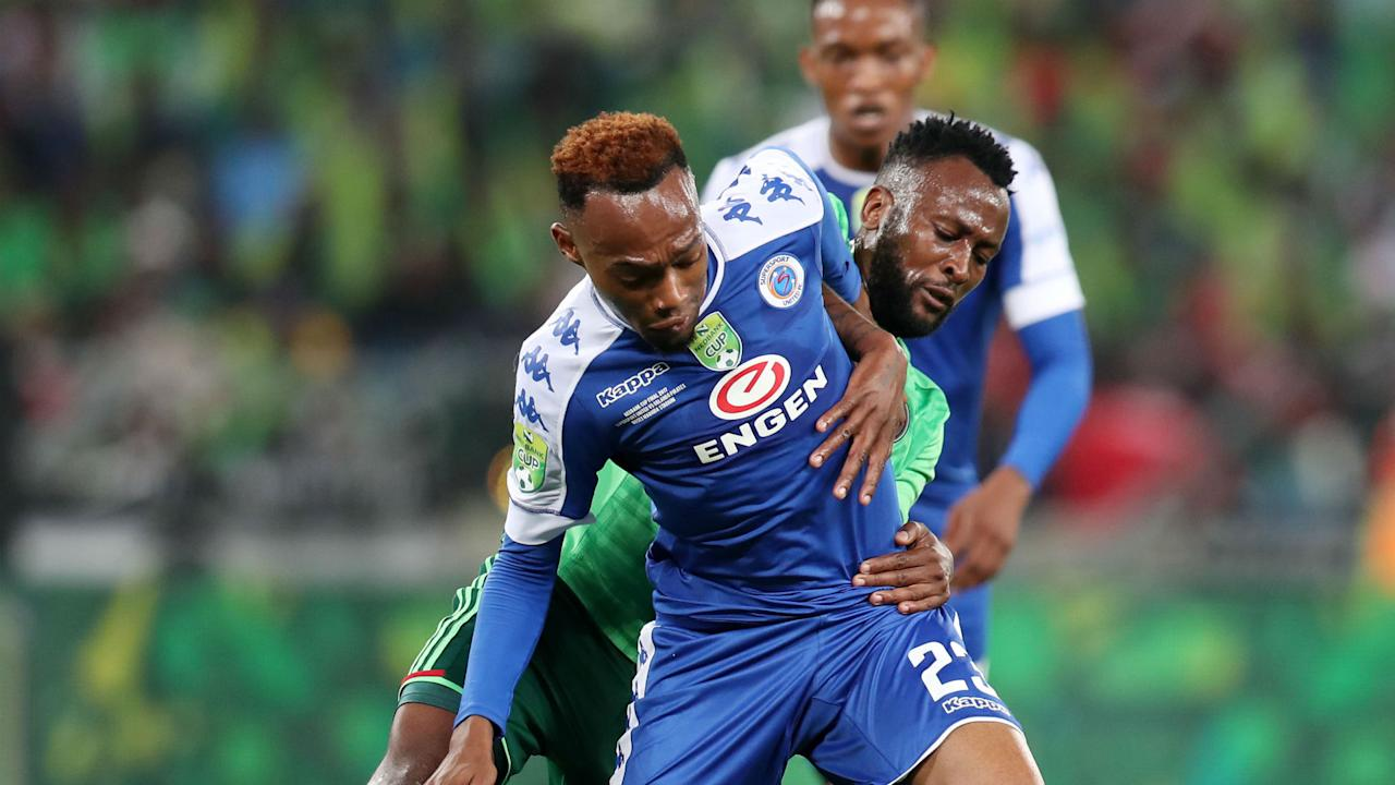 Bradley Grobler netted a brace as Matsatsantsa humiliated the Buccaneers in the South African FA Cup in Durban