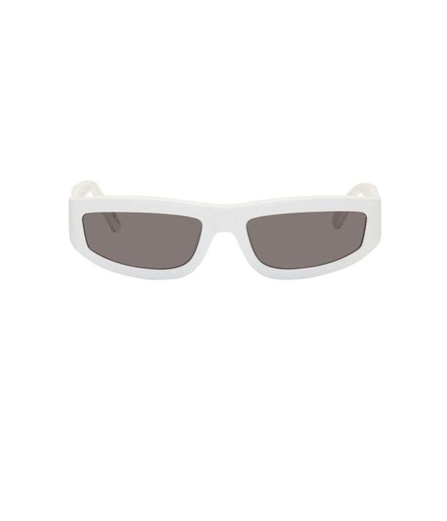 "<p>Slim rectangular glasses, $250, <a href=""https://www.ssense.com/en-us/women/product/stella-mccartney/white-slim-rectangular-sunglasses/2740538?clickref=1011l4CL2pka&utm_source=PH_1100l16177&utm_medium=affiliate&utm_content=0&utm_term="" rel=""nofollow noopener"" target=""_blank"" data-ylk=""slk:ssense.com"" class=""link rapid-noclick-resp"">ssense.com</a> </p>"