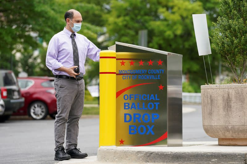 Ballot drop boxes are latest battleground in U.S. election fight