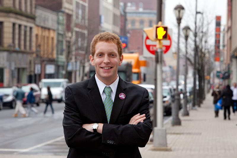 Holyoke Mayor Alex Morse was accused of sexual misconduct by the College Democrats of Massachusetts. (Photo: Melanie Stetson Freeman via Getty Images)