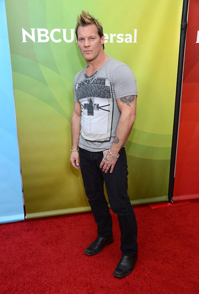 """Chris Jericho attends NBCUniversal's """"2013 Winter TCA Tour"""" Day 2 at Langham Hotel on January 7, 2013 in Pasadena, California."""