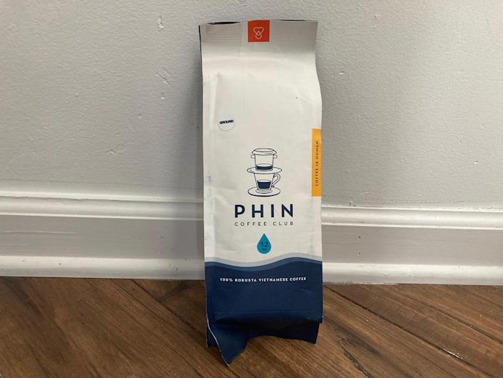 In Austin, Texas, Phin Coffee Club sells coffee roasted over rambutan wood by owner Harvey Tong's family in Vietnam, infused with flavors of avocado and salt and slow-caramelized cacao beans.
