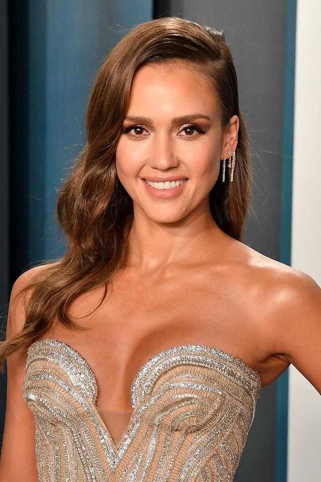 "<p>In the summer months it's important for a brunette to embrace her natural texture, says celebrity stylist <a href=""https://www.paullabrecque.com/"" target=""_blank"">Paul Labrecque</a>. For example, if you have wavy hair, go for a bigger, looser wave like Jessica Alba's. It's a style that pairs perfectly with her perfect-for-summer caramel brown shade. </p>"