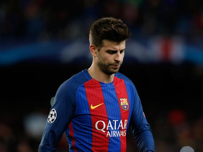 Gerard Pique said it was a hard defeat to swallow: Getty