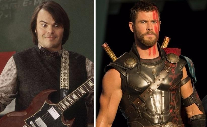 Who used 'Immigrant Song' better: 'School of Rock,' or 'Thor: Ragnarok?' (Credit: Paramount/Marvel)