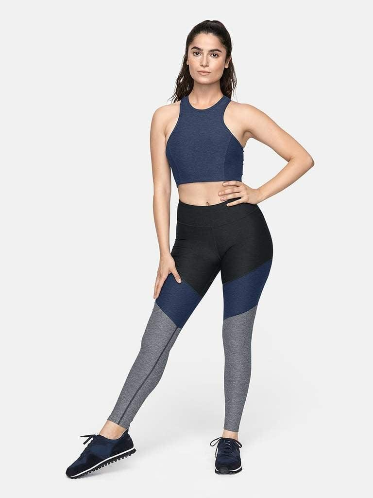 <p>How do we love the <span>Outdoor Voices 7/8 Springs Leggings</span> ($85)? Let us count the ways. They come in the prettiest color combinations, are ultra-comfortable but still supportive, and make our butt look good, thanks to their Signature Compression fabric.</p>
