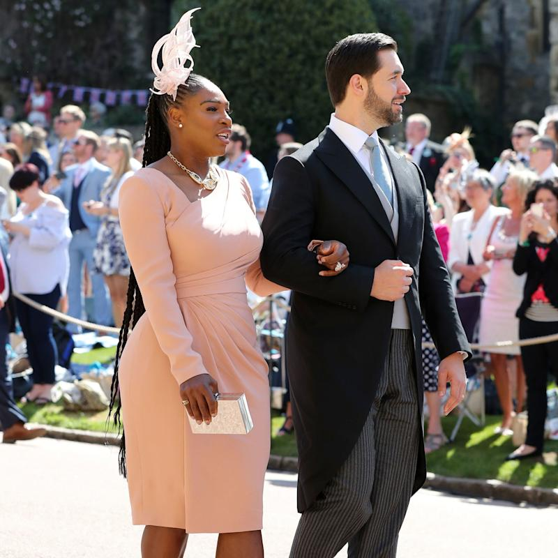 Serena Williams Turns the Hip-Grazing Ponytail Into a Royal Wedding Guest Win