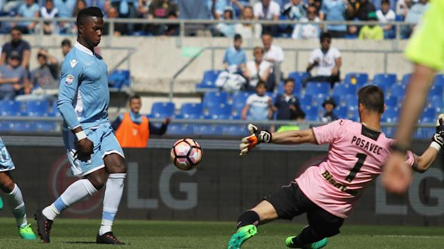 Lazio recorded a 6-2 win over Palermo courtesy of an early double from Ciro Immobile and a Balde Keita hat-trick.