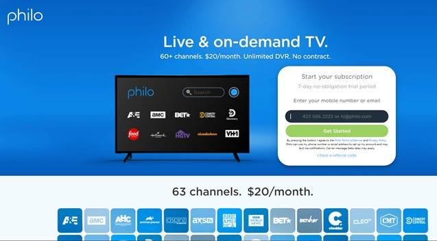 What is Philo TV 1