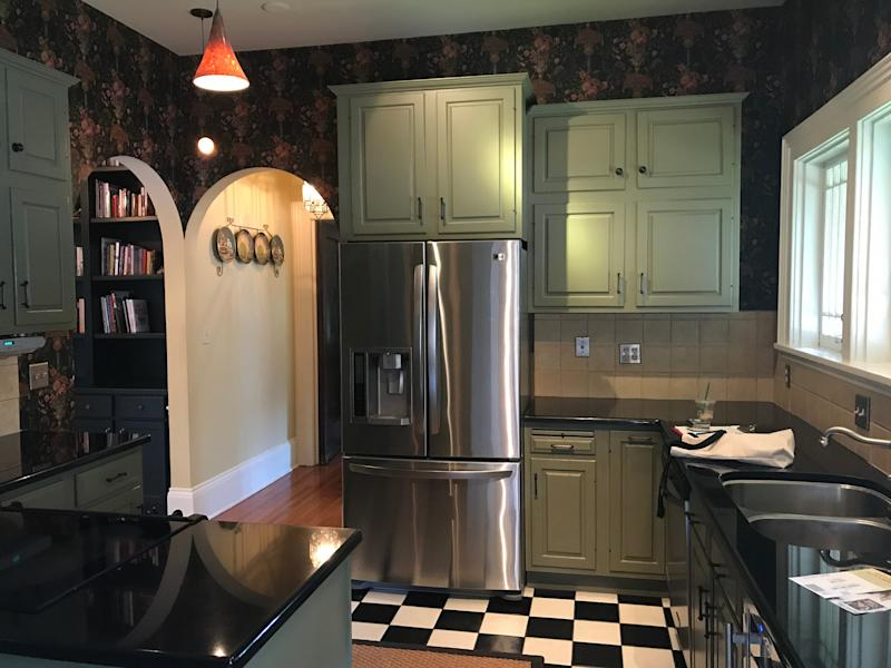 """BEFORE: """"The kitchen is probably the biggest transformation and the place where we spend the most time,"""" says Jody."""