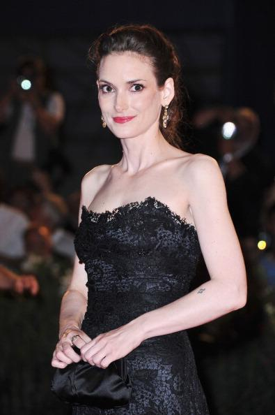 Actress Winona Ryder attends 'The Iceman' premiere during the 69th Venice Film Festival at the Palazzo del Cinema on August 30, 2012 in Venice, Italy. (Photo by Pascal Le Segretain/Getty Images)