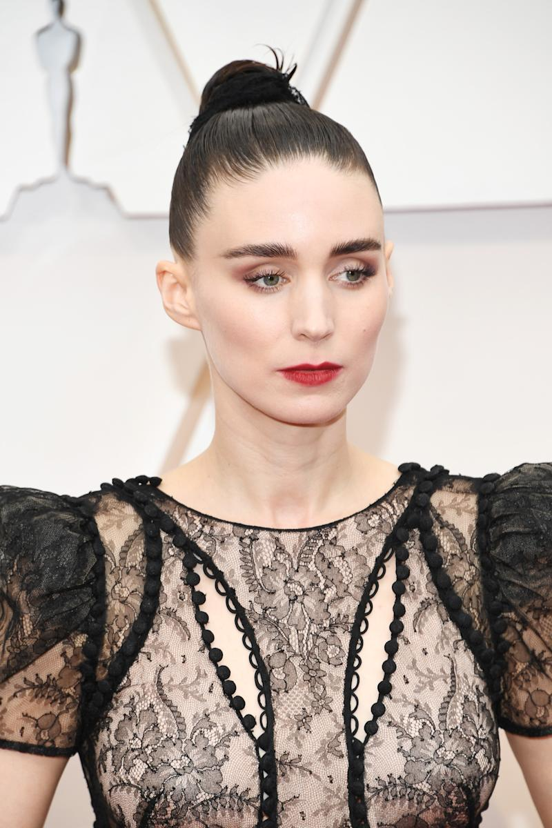 Rooney Mara attends the 92nd Annual Academy Awards at Hollywood and Highland on February 09, 2020 in Hollywood, California.