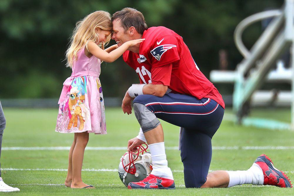 Tom Brady Says His Kids Would Rather Hang with His Teammates