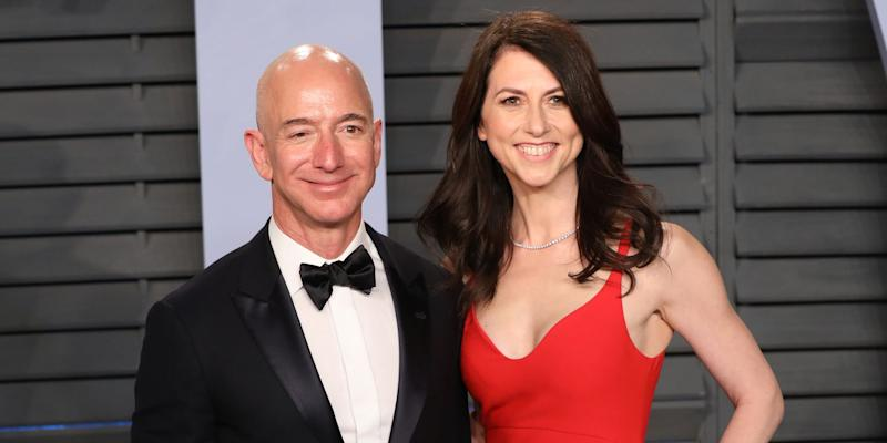 Two Months After Divorcing Jeff Bezos, MacKenzie Bezos Is Giving