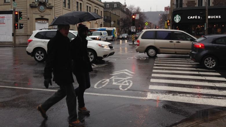 Umbrella time: Rainfall warning in effect for Montreal area