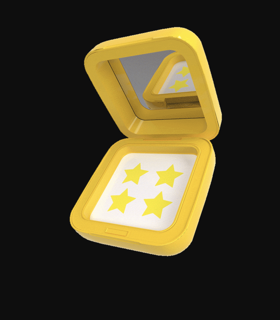"""<p>Draw out the oil and moisture that keeps pimples swollen by using a hydrocolloid patch. Starface's star-shaped patches are meant to be seen and come in a cute refillable case.</p><p><strong>Starface </strong>Hydro-Stars, $14.99 for 32 patches, target.com. </p><p><a class=""""link rapid-noclick-resp"""" href=""""https://www.target.com/p/starface-hydro-stars-starter-pack-32ct/-/A-80371281"""" rel=""""nofollow noopener"""" target=""""_blank"""" data-ylk=""""slk:SHOP"""">SHOP</a><br></p>"""