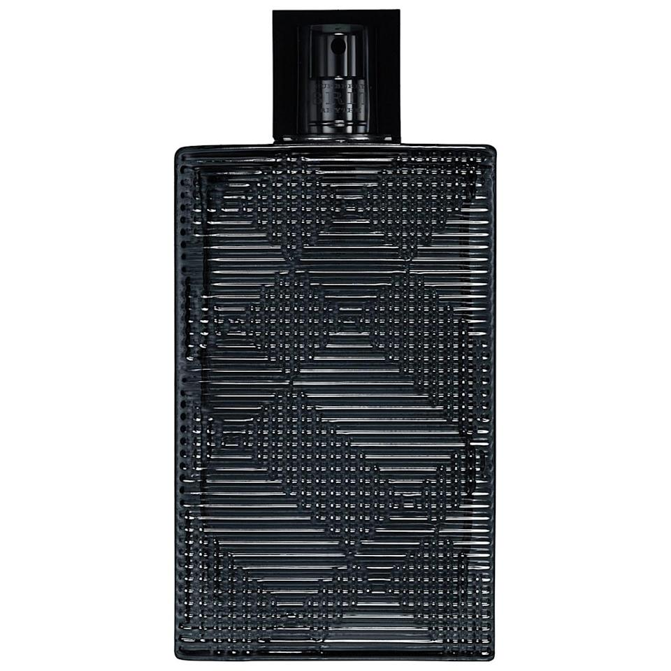 """<p>A more intense version of the wildly popular Brit, which launched in 2013, this one features rich, distinctive notes of artemisia, amber, and tonka bean for a smoky and leathery effect. As the Brit collection is inspired by British rock and roll, Rhythm's bottle is fittingly dark grey and finished with studs. <b><a href=""""http://www.sephora.com/brit-rhythym-P383082?skuId=1561174"""" rel=""""nofollow noopener"""" target=""""_blank"""" data-ylk=""""slk:Burberry Brit Rhythm For Men"""" class=""""link rapid-noclick-resp"""">Burberry Brit Rhythm For Men</a> ($80)</b></p>"""