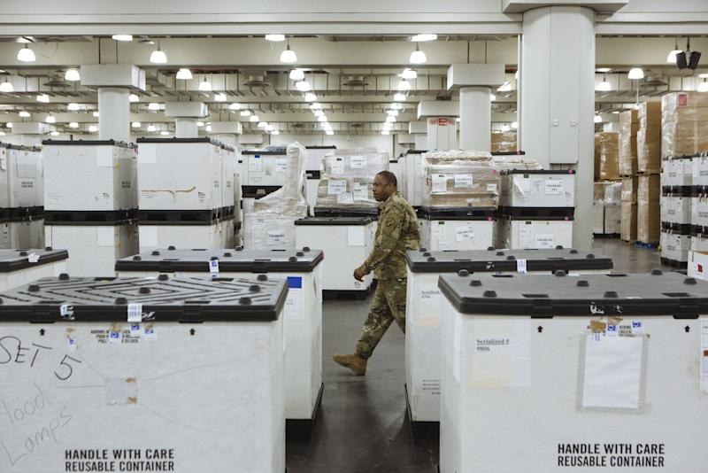 Medical Supplies Free-for-All Has States Lashing Out at FEMA