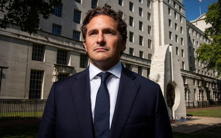 Johnny Mercer's bill will go before parliament for a second reading this week - Geoff Pugh