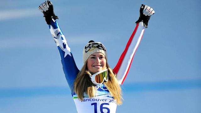 With Lindsey Vonn set to end her skiing career on Sunday, we highlight some of the key numbers behind the American's remarkable success.