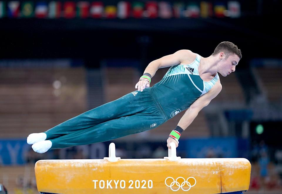 Ireland's Rhys McClenaghan suffered Olympic heartache (Mike Egerton/PA) (PA Wire)