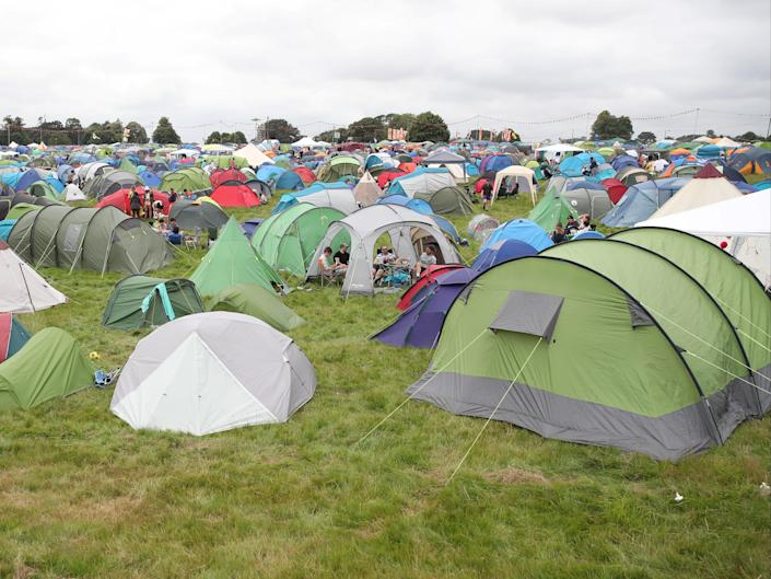 About 40,000 people are heading south to Latitude festival which is operating under a government event safety trial (REUTERS)