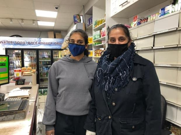 Simran Bal, the daughter of a Indian store grocer in Toronto's Parkdale neighbourhood, is worried her father might be stranded after an emergency that recently required him to travel to India.