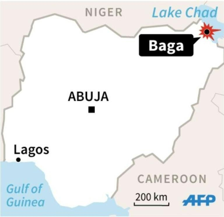 Fighters from the Islamic State West Africa Province group launched a dawn attack against a base near the town of Baga on Lake Chad