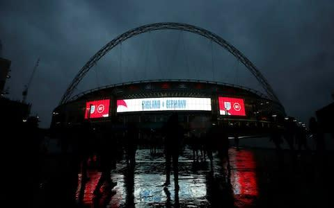 <span>Wembley is ready for the big occasion</span> <span>Credit: Reuters </span>