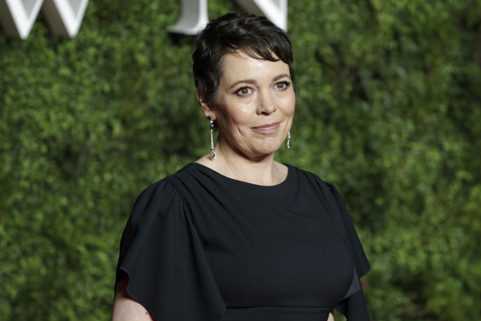 Olivia Colman has defended the royal couple. (Photo: John Phillips/Getty Images)