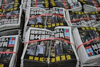 """Hong Kong's security secretary John Lee has portrayed Apple Daily as an outlier, a """"criminal syndicate"""" different to other media"""
