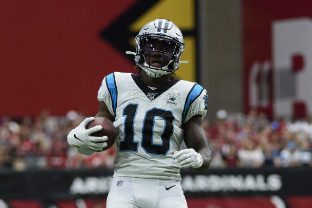 Curtis Samuel is looking like a plus-play in Week 5, especially with Jalen Ramsey out. (Photo by Jennifer Stewart/Getty Images)