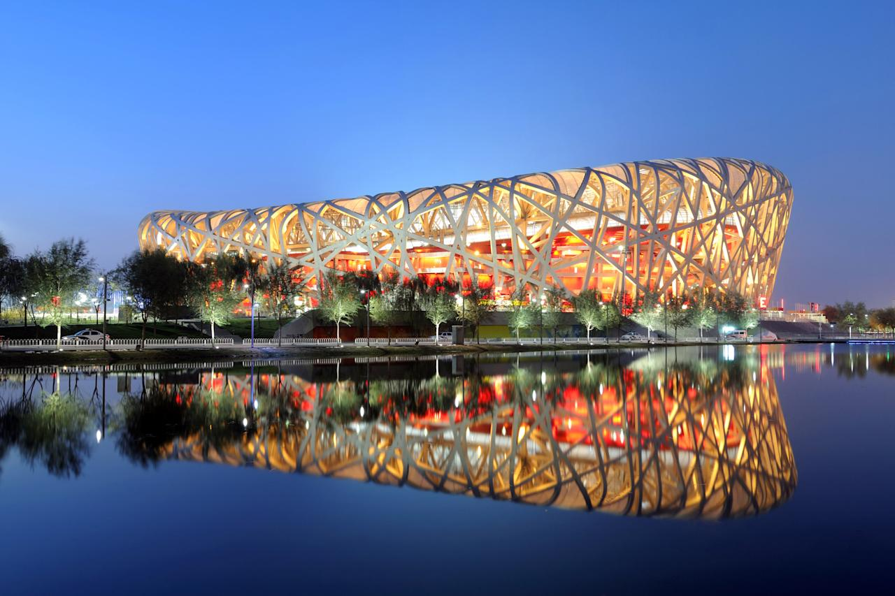 Perhaps no stadium in the world is as attenion-grabbing as Beijing's National Stadium. Built in 2007 to host the 2008 Summer Olympics and Paralympics, the arena deconstructs the traditional notion of what a sports venue could be. Designed by Herzog and de Meuron and Ai Weiwei, the nest-like steel not only supports the structure but also has the organic feel of something created by nature itself.