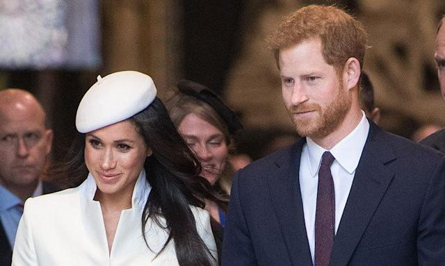 Prince Harry and Meghan are back from their honeymoon! Put the tea on! (Photo: The Cut)