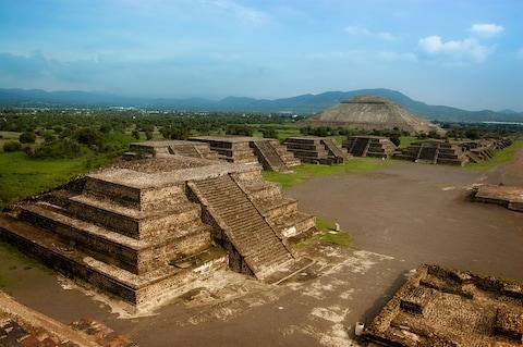 The Pyramid of the Sun – Teotihuacán - Credit: Getty