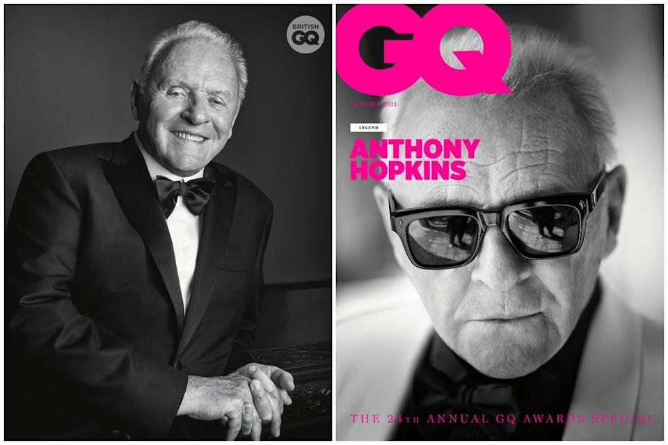 """Anthony Hopkins has been given the """"legend award"""" at this year's GQ Men Of The Year Awards (Gavin Bond)"""