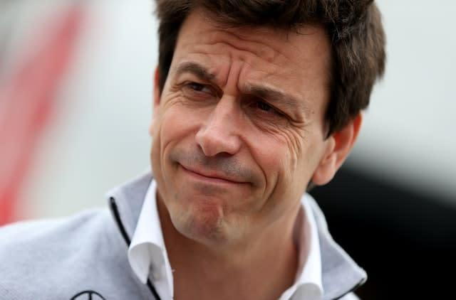 Toto Wolff has backed Lewis Hamilton in his fight against racism (David Davies/PA)