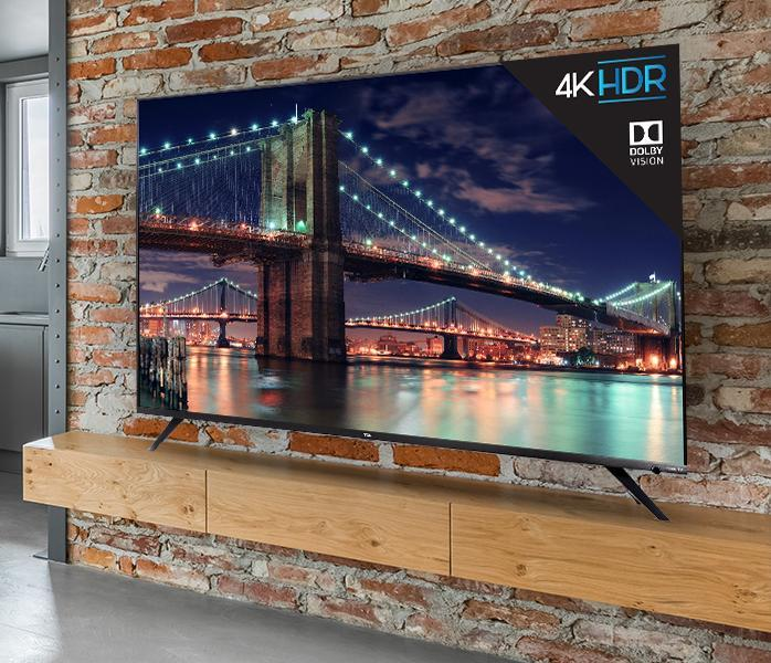 You deserve it: upgrade and save 44% on this 4K TV. (Photo: TCL)