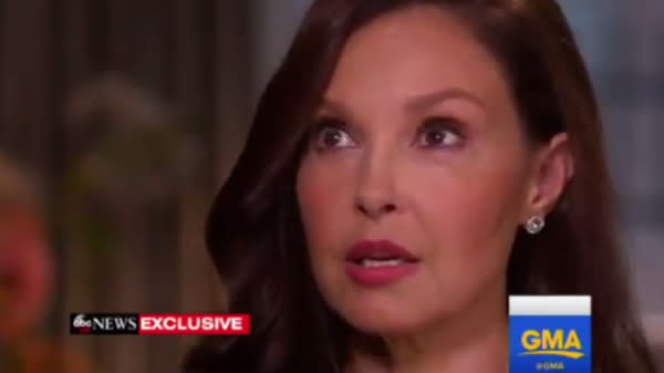 Ashley Judd Breaks Down In Tears During First TV Interview Since Weinstein Allegations
