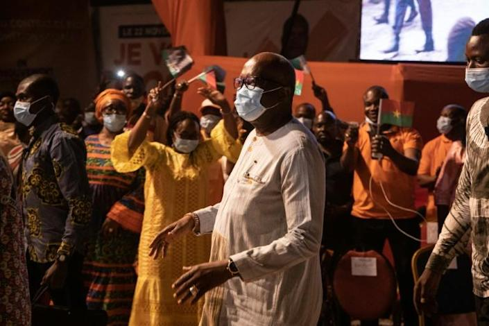 Burkina Faso President Roch Marc Christian Kabore condemned the attack as 'barbaric' and 'despicable'