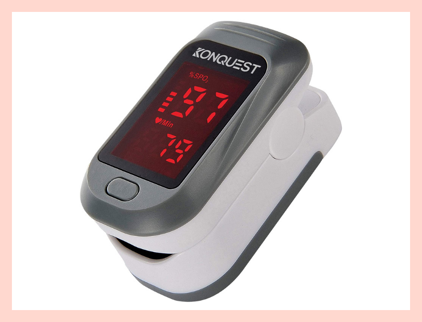 Checks your pulse and blood oxygen levels in just 10 seconds. (Photo: Amazon)