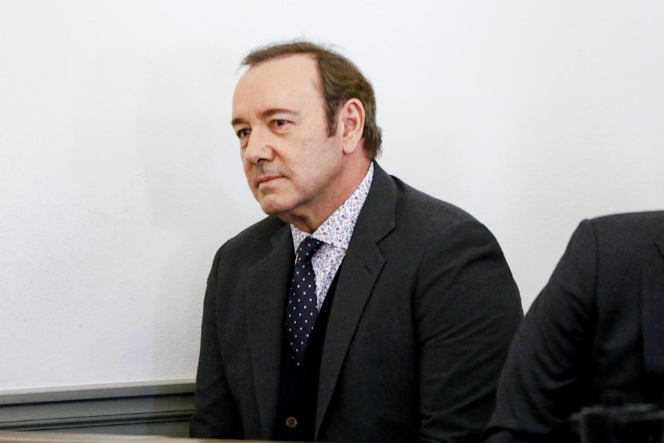 NANTUCKET, MA – JANUARY 07: Actor Kevin Spacey attends his arraignment for sexual assault charges at Nantucket District Court on January 7, 2019 in Nantucket, Massachusetts. (Photo by Nicole Harnishfeger-Pool/Getty Images)