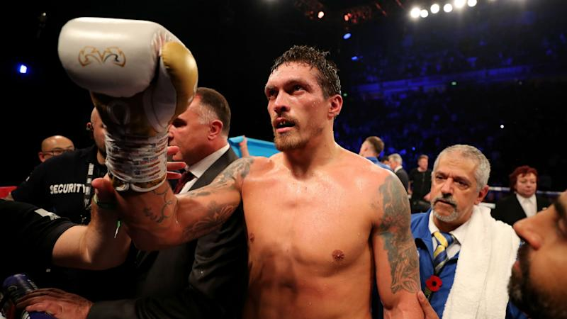 Witherspoon steps in to face Usyk in Chicago