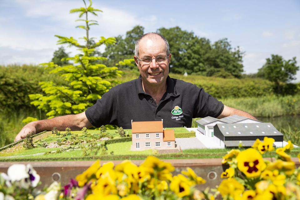 Arla farmer Roger Hildreth is backing the Bee Road to give the nation a buzz